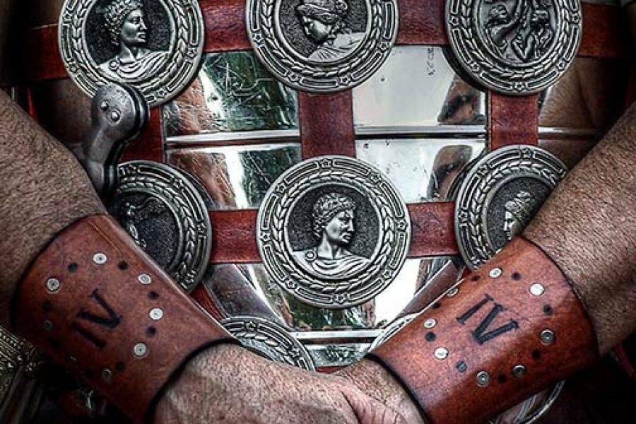 Los romanos se visten de fiesta.
