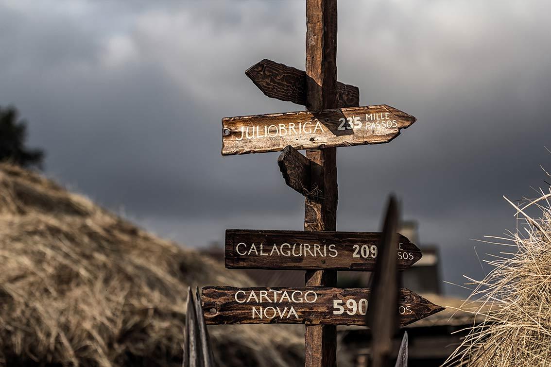 Calzada de Pisoraca. Cruce de Caminos